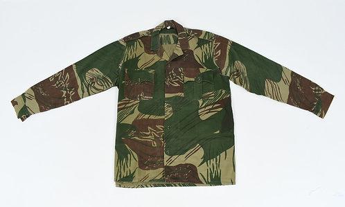 Rhodesian Army Enlisted Man Named Long Sleeves Camo Shirt by Paramount
