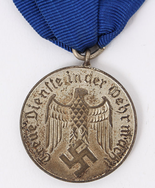 WWII German Army Long Service Medal 4 years