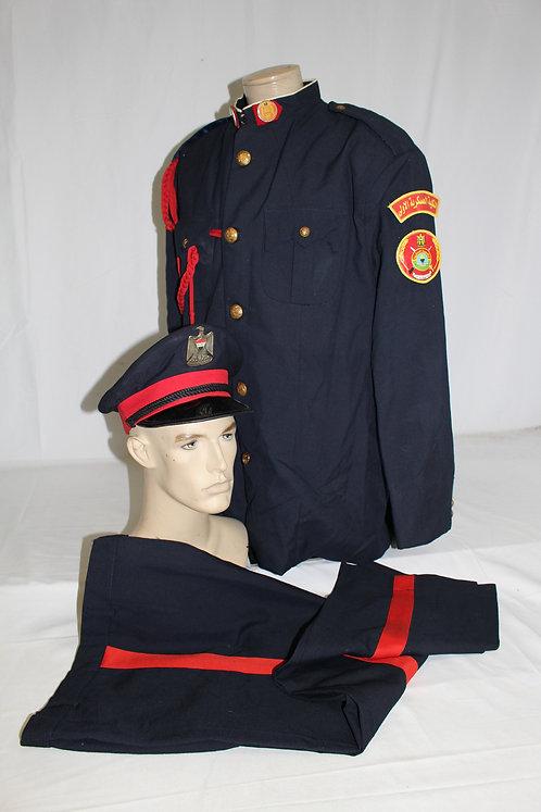 Iraqi Army Academy cadet dress uniform grouping