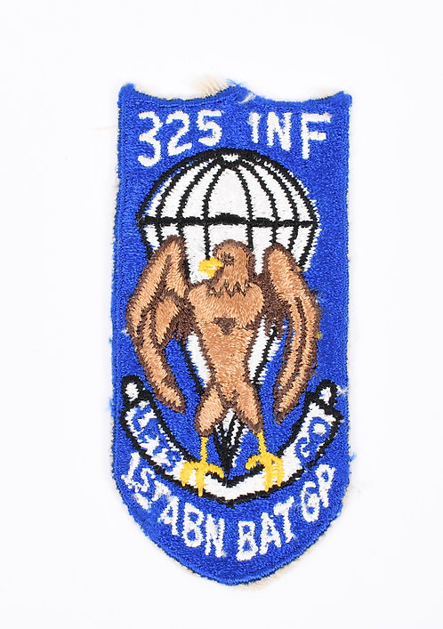 1st Airborne Battle Group 325th Infantry Regt patch