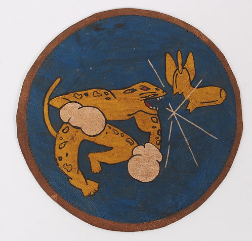 WWII AAF 54th Fighter Squadron A2 Jacket leather patch
