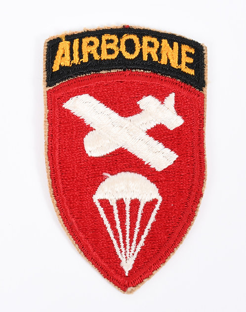 WWII US Paratrooper Airborne Command shoulder patch