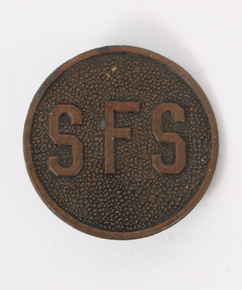 WWI - 1920's US state forestry servive SFS collar disc insignia