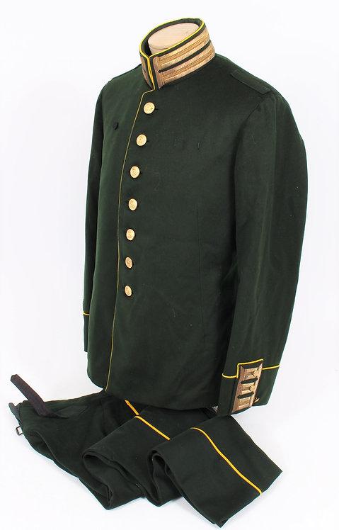Swedish M1888 Light Infantry Officer dress uniform
