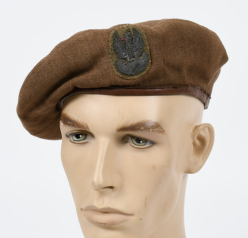 WWII POLISH ARMY OFFICER BERET