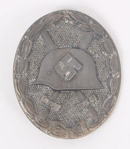 WWII German Army Wound Badge Silver grade by Klein & Quenzer