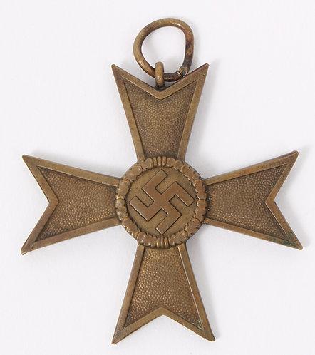 WWII German War Merit Cross 2nd class w/o Swords