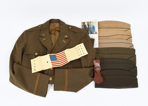 WWII Operation Torch US Army Officer named uniform grouping