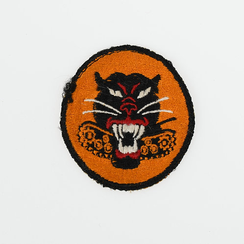 WWII US Army Tank Destroyer 8 wheels shoulder patch