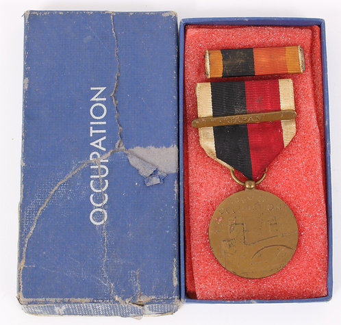 US Army Occupation medal with Japan clasps