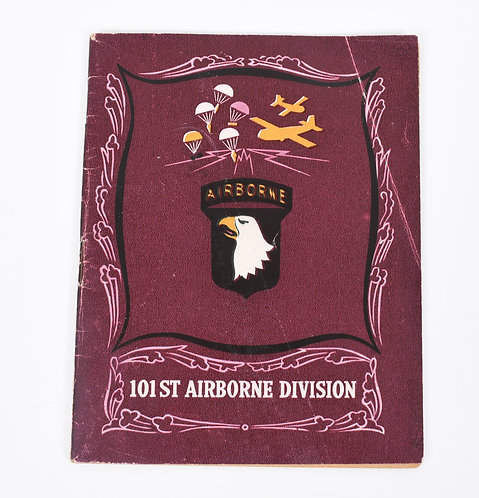 Original WWII 101st Airborne Division history booklet