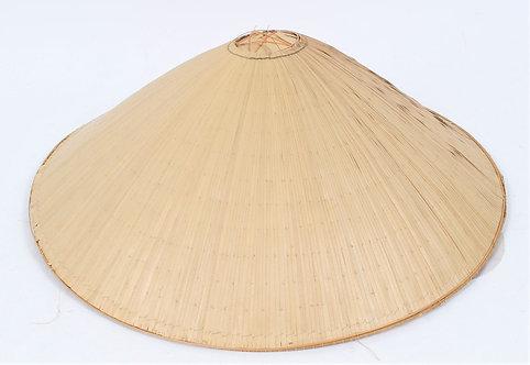 """Vietnam War Vet bring back Vietnamese woman bamboo sun hat 17"""""""