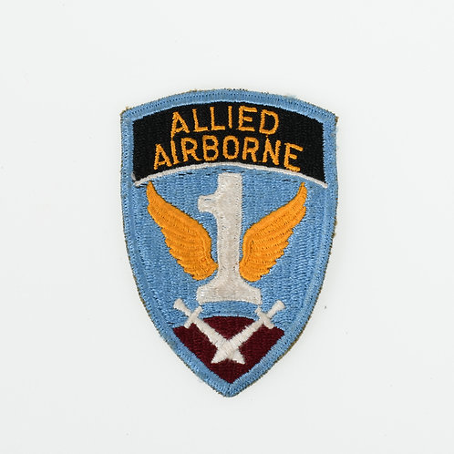 WWII 1st Allied Airborne shoulder patch