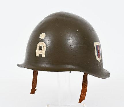 WWII DANISH M39 TRANSITIONAL COMBAT HELMET
