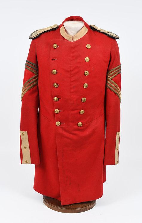 Indian Wars US State Guard IBF Volunteers Sgt Major dress tunic