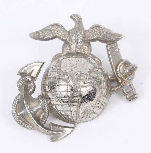USMC Marine Corps P1892 Enlisted / Officer service cap EGA insignia