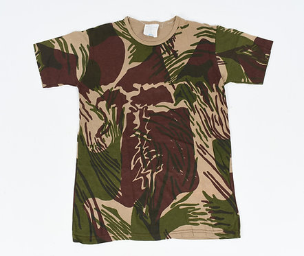 Rhodesian Army Camo T-shirt Light Brown
