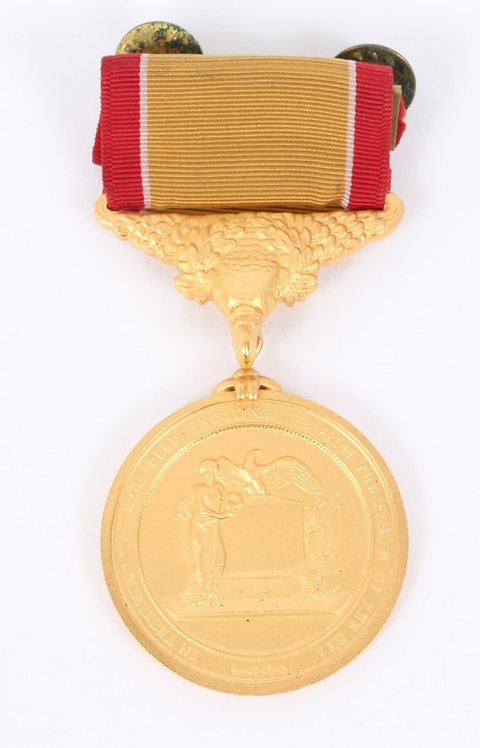 US Gold Lifesaving medal
