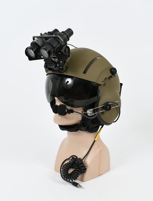 US ARMY HELICOPTER PILOT SPH-5 FLIGHT HELMET WITH NVG