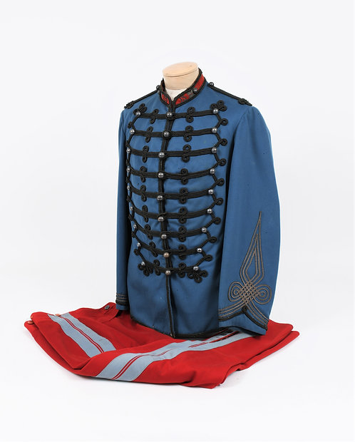 French M1872 Chasseur a cheval Officer uniform