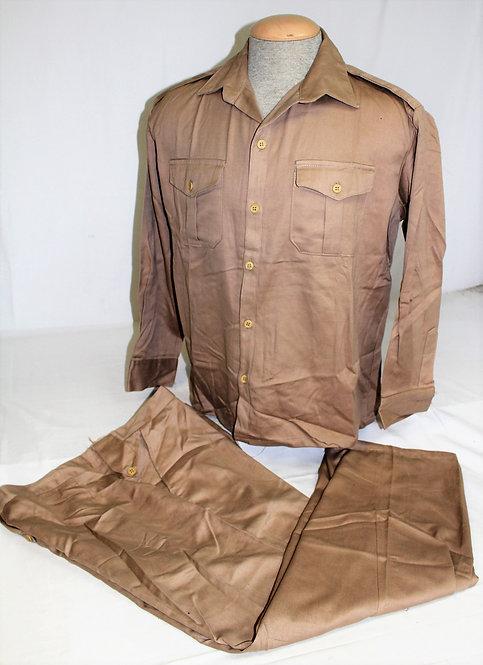Iraqi Army Officer desert tan camo BDU uniform
