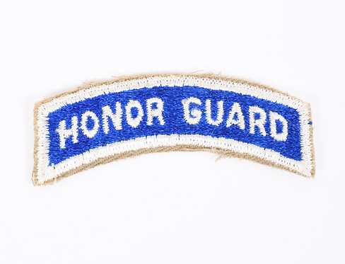 US Army Honor Guard shoulder tab patch