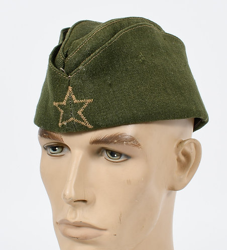WWII YOUGOSLAV PARTISAN OFFICER OVERSEAS CAP