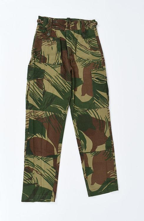 Rhodesian Army Type III Camo Pants Dated 1977