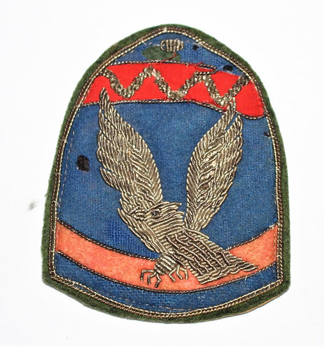 Korea US Military Assistance Group theater made bullion patch