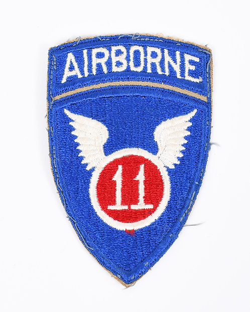 WWII US Army 11th Airborne Paratrooper shoulder patch