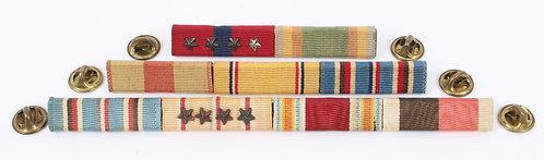 WWII USMC Marine Corps 3/8 ribbon bar lot of 9