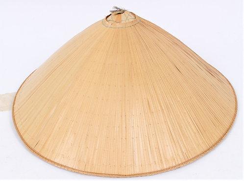 """Vietnam War Vet bring back Vietnamese woman bamboo sun hat 14"""""""