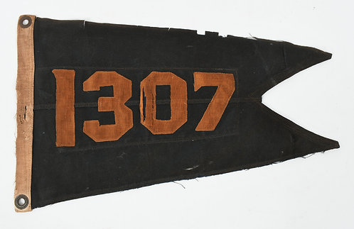 WWI - WWII US CAVALRY TRAINING PENNANT