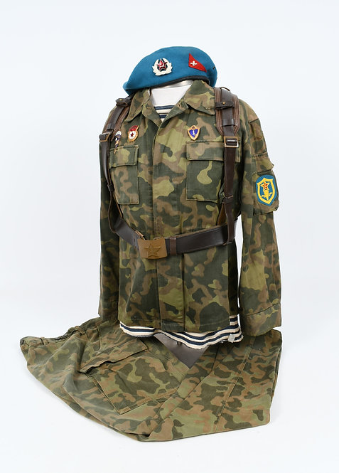 Soviet Afghanistan War Paratrooper camo uniform set