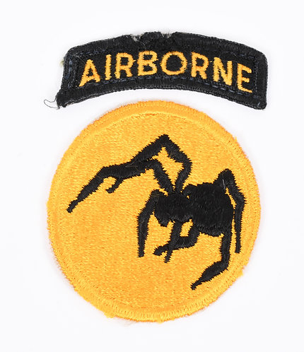 WWII US 135th Airborne Ghost Division shoulder patch