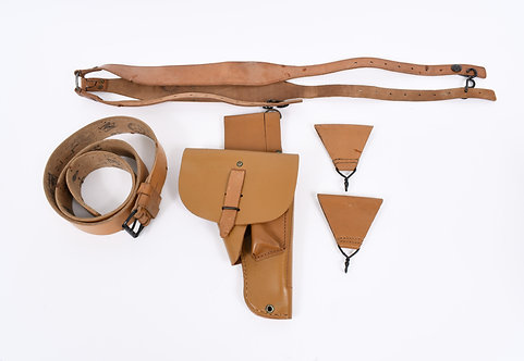 Indochina - Algeria War French field gear & holster