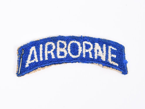 WWII US Army Paratrooper 82nd Airborne shoulder patch tab