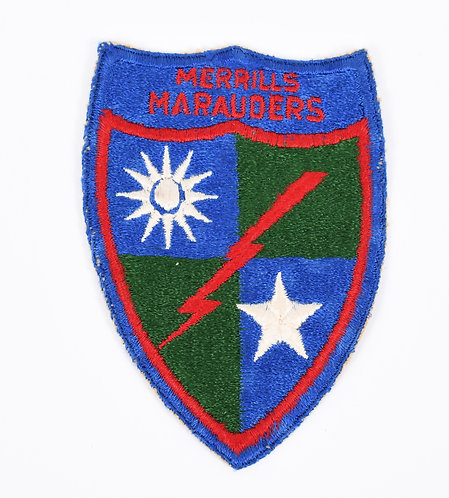 WWII US Army Merrills Marauders shoulder patch