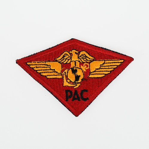 WWII USMC Marine Headquarters pacific Air Wing shoulder patch