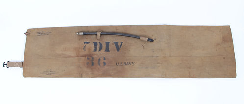 WWII USN Navy BP6 inflatable life preserver amphibious assault belt