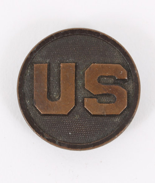 WWI US Army US EM / NCO collar disc insignia