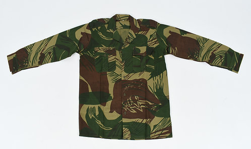 Rhodesian Army Enlisted Man Long Sleeves Camo Shirt