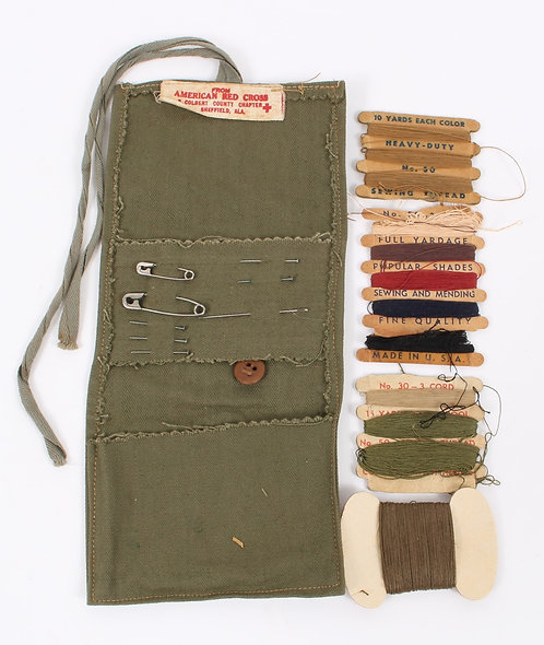 WWII US Army American Red Cross sewing kit