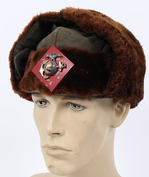 USMC Officer Iceland Fur Hat
