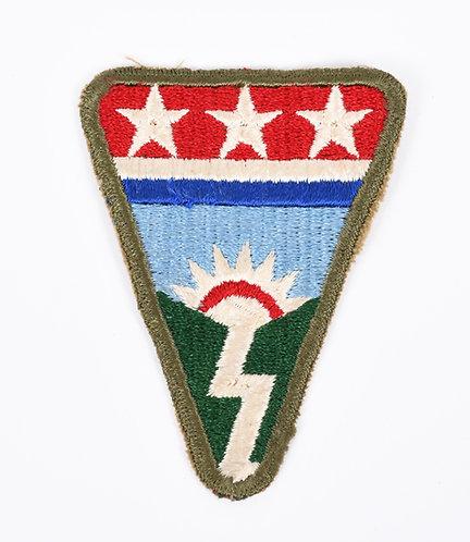 WWII US Army Ledo Road OD border patch