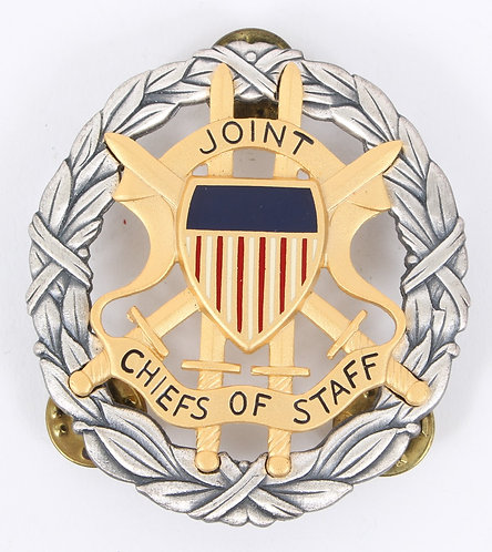 US Army Joint Chiefs of Staff Badge maker marked
