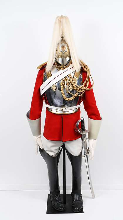 British Household Cavalry complete Life Guard uniform