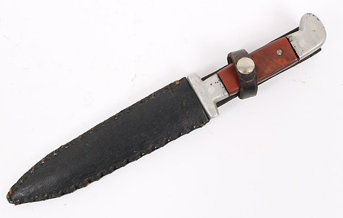 Vietnam War custom made combat knife w/ John Ek Commando Sheath