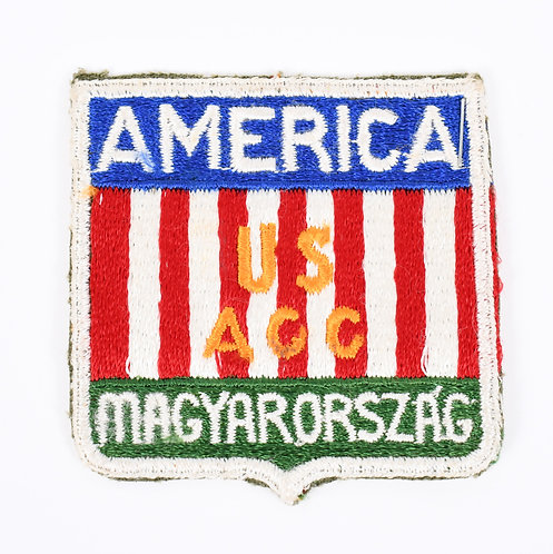 WWII US Army Occupation Hungarian Occupation Forces patch