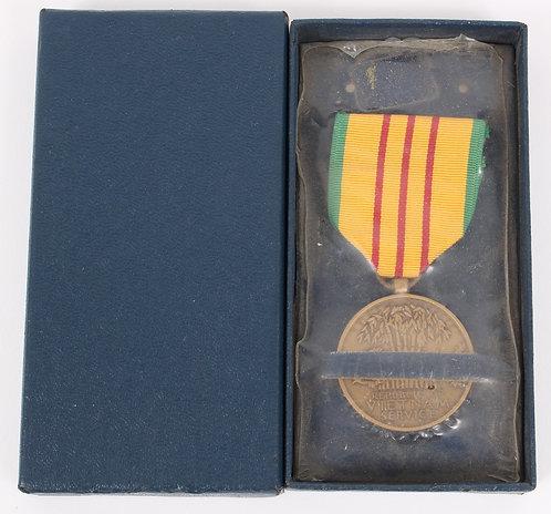 Vietnam War Vietnam Service Medal unissued dated 1967